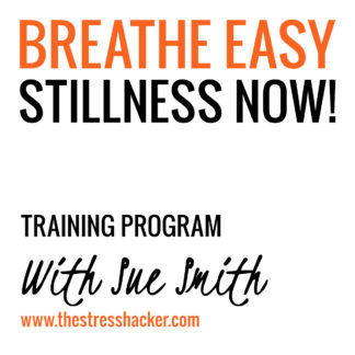 the stresshacker, breathe, easy, stillness, training