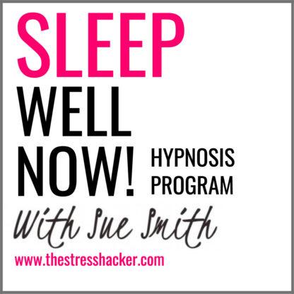the stresshacker, sleep, hypnosis, program