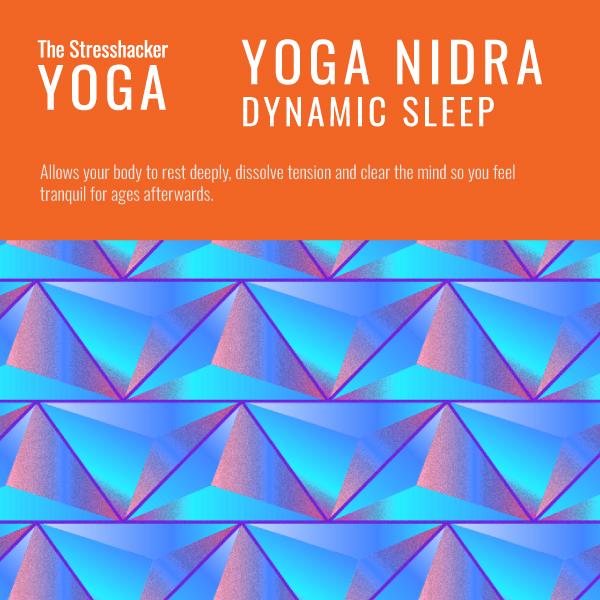 the stresshacker, yoga nidra, dynamic sleep, audio programme